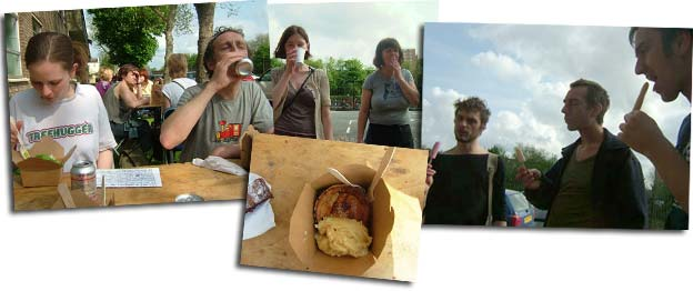 pies, ice cream and cigarettes